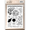 Jeaninés Art - Clearstamp - Classic Butterflies and flowers