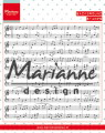 Marianne Design Clearstamp - Music Notes