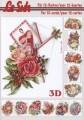 Le Suh 3D Klippark - Bok, A5 - Blommotiv