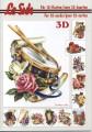 Le Suh 3D Klippark - Bok, A5 - Musikinstrument