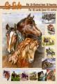 Le Suh 3D Klippark - Bok, A5 - Hästmotiv