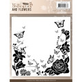 Jeanine´s Art Embossingfolder - Classic Butterflies and flowers