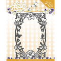 Precious Marieke Dies - Early Spring - Spring Flowers Rectangle Frame