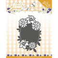 Precious Marieke Dies - Early Spring - Spring Flowers Oval Label