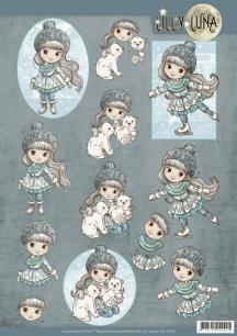 Lilly Luna - 3D Klippark - Ice Princess - 3D Klippark - Lilly Luna - Ice Princess