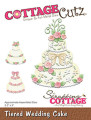 Cottage Cutz Dies - Tiered Wedding Cake