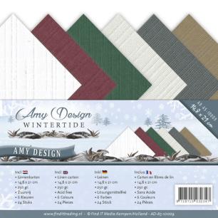 Amy Design - Pappersblock - A5 - Wintertide - Amy Design - Pappersblock - A5 - Wintertide