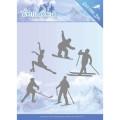 Jeaninés Art Dies - Wintersports - Winter Sporting