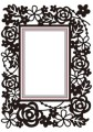 Nellie Snellen - Embossing/DieCut folder - Rectangle - floral