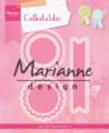 Marianne Design - Dies - Rosettes & Labels