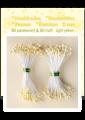 Pistiller i pack 80 st matt och 80 st Pearl - Light yellow