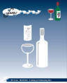 by Lene - Dies - Wine & Glass