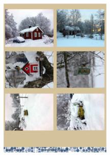 Barto Design Klippark - Vintermotiv - Barto Design Klippark - Vintermotiv