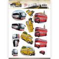 Amy Design 3D Utstansat - Daily Transport - By Bus