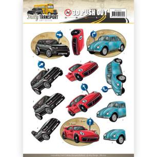 Amy Design 3D Utstansat - Daily Transport - Daily Cars - Amy Design 3D Utstansat - Daily Transport - Daily Cars