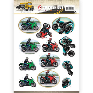 Amy Design 3D Utstansat - Daily Transport - Motor Cycling - Amy Design 3D Utstansat - Daily Transport - Motor Cycling