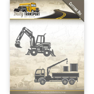 Amy Design Dies - Daily Transport - Construction Vehicles - Amy Design Dies - Daily Transport - Construction Vehicles