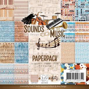 Amy Design Pappersblock - Sounds of Music - Amy Design Pappersblock - Sounds of Music