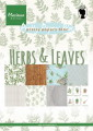 Marianne Design Pappersblock - Herbs & Leaves