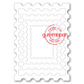 Gummiapan Dies - Postage Stamp Rectangle