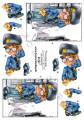 Dan-Quick 3D Klippark - Polis, kille