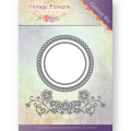 Jeaninés Art Dies - Vintage Flowers - Flowers and Circles