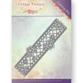 Jeaninés Art Dies - Vintage Flowers - Floral Border
