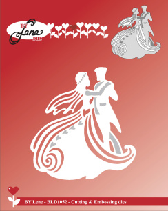 by  Lene - Dies - Dancing Wedding Couple - by  Lene - Dies - Dancing Wedding Couple