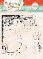 Studio Light - Clearstamp - So Spring - Background Stamps 286