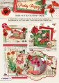 Studiolight Block - 3D Utstansat - Pretty Poppy