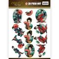 Amy Design 3D Utstansat - Oriental - Geisha