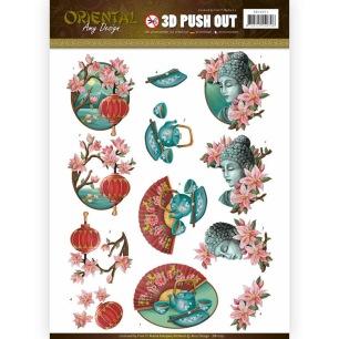 Amy Design 3D Utstansat - Oriental - Culture - Amy Design 3D Utstansat - Oriental - Culture