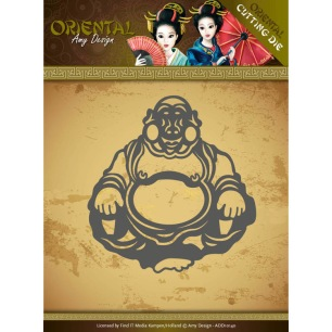 Amy Design Dies - Oriental - Happy Buddha - Amy Design Dies - Oriental - Happy Buddha