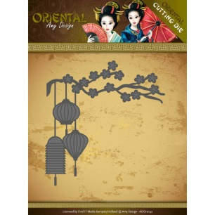 Amy Design Dies - Oriental - Chinese Lantern - Amy Design Dies - Oriental - Chinese Lantern