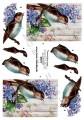 Dan-Quick 3D Klippark - Fågel på syrenkvist