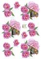 Dan design 3D Klippark - Fågel bland blommor