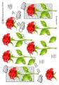 HM Design 3D Klippark - Studentmotiv - röd ros
