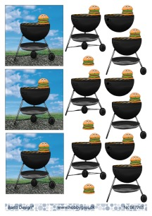 Barto Design - 3D Klippark - Grill - Barto Design - 3D Klippark - Grill