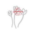 Gummiapan Dies - Tulips