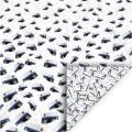 Student - Dubbelsidigt papper i blått 200 gr, 30,5x30,5 cm
