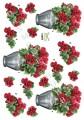 Dan design 3D Klippark - Blommor i vas