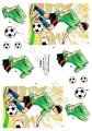 Dan-Quick 3D Klippark - Fotbollskille