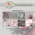 Dixi Craft Pappersblock - Wedding Background