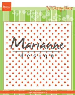 Marianne Design Embossingfolder - Polka Dots - Marianne Design Embossingfolder - Polka Dots