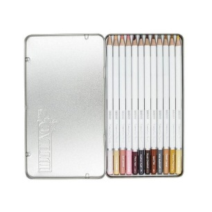 Nuvo Watercolour Pencil - Hair & Skin Tones - Nuvo Watercolour Pencil - Hair & Skin Tones