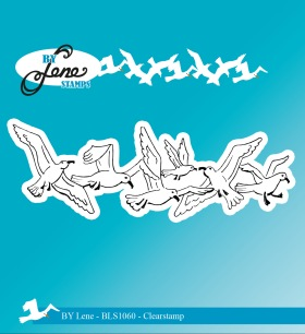 by Lene - Clearstamp - Seagulls - by Lene - Clearstamp - Seagulls