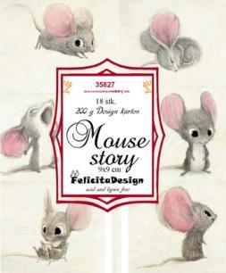 Felicita Design Toppers - Mouse Story - Felicita Design Toppers - Mouse Story
