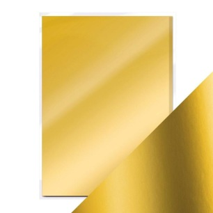 Tonic Studios Craft - Mirror Card A4 - Gold Pearl - Satin Effect - Tonic Studios Craft - Mirror Card A4 - Gold Pearl - Satin Effect