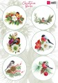 Marianne Design Klippark - Christmas Birds 1
