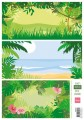 Marianne Design Papper - Eline´s Tropical Background